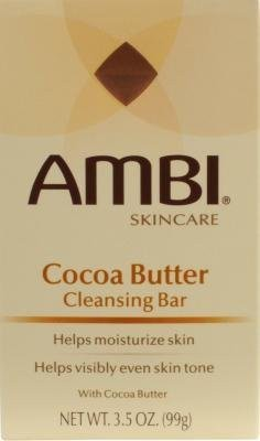 Ambi Cleansing Bar Soap Cocoa Butter (6 Pack)