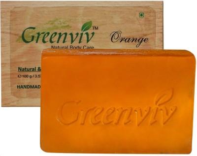 Greenviv Natural Orange Soap