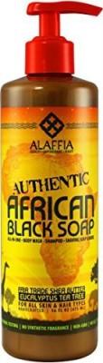 Alaffia - Authentic African Black Soap Eucalyptus Tea Tree