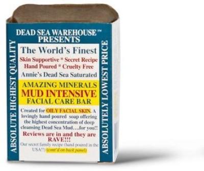 Dead Sea Warehouse Amazing Minerals Mud Intensive Facial Care Bar