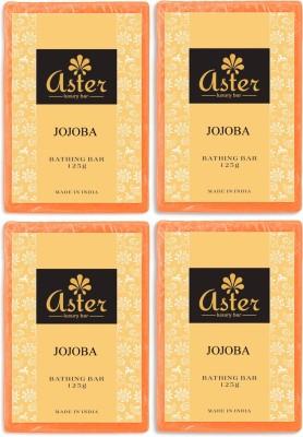 Aster Luxury Jojoba Bathing Bar - Pack of 4