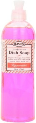 Bayes Dish Soap Holiday Peppermint Pack of 2
