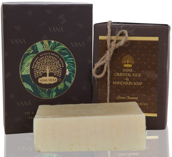 VANA VIDHI Oriental Rice & Mandarin Cleanser(100 g)