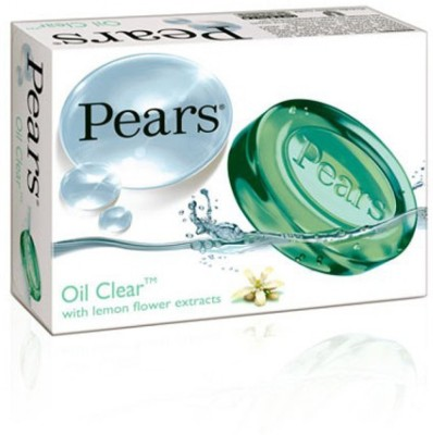 Pears Oil Clear Green Soap Imported (Pack Of 3)