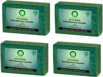 Khadi Herbal NaturalPure Rosemary Lavender soap