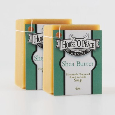 Horse ,O Peace Ranch Handmade Herbal Shea Butter Goat Milk Soap