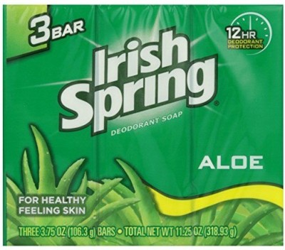 Irish Spring Aloe Deodorant Soap Pack Of 3