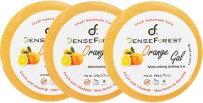 Dense Forest Khadi Orange Gal Soap (Pack of 3)