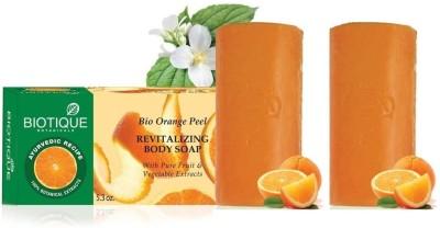Biotique Orange Peel Soap (Set of 2)