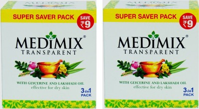 Medimix Transparent With Glycerine And Lakshadi Oil