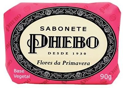 Phebo Linha Tradicional - Sabonete em Barra de Glicerina Flores da Primavera ( Classic Collection - Glycerin Bar Soap Spring Flowers)