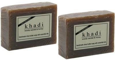Khadi Natural Woody Sandal & Honey Soap(200 g)