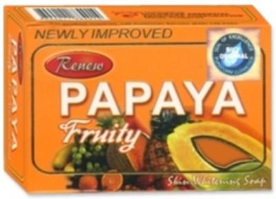 Renew Papaya Fruity Skin Whitening Soap