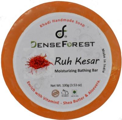 Dense Forest Ruh Kesar Handmade Khadi Soap