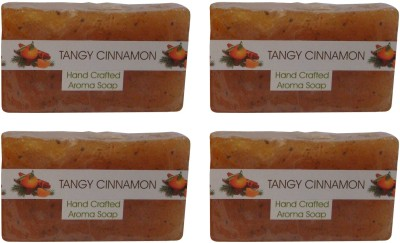 Spaanand Hand Crafted Tangy Cinnamon Premium Soap(400 g)