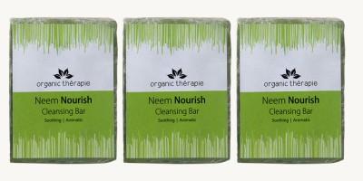 Sattvik Neeem Nourish Cleansing Bar Pack Of 3