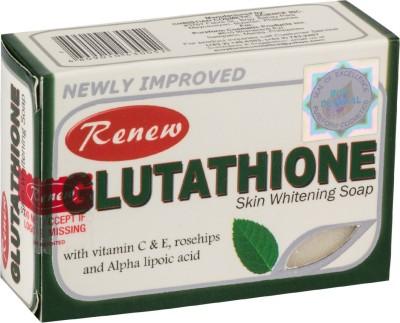 Nunnnuskincare Renew gluthathione skin whitening soap 101 % original