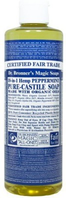 Dr. Bronners liquid Soap Peppermint Hemp