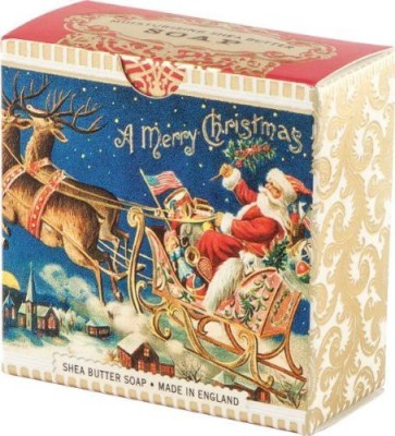 Michel Design Works Santa's Sleigh Little Soap (SOAM511)
