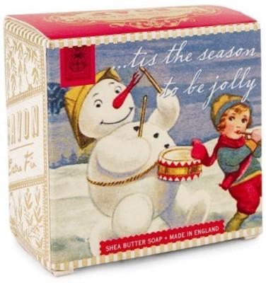 Michel Design Works Snowman Winter Floral Little Soap