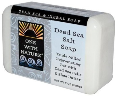 Only Natural One with Nature Dead Sea Mineral Dead Sea Salt Soap