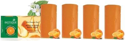 Biotique Orange Peel Soap (Set of 4)