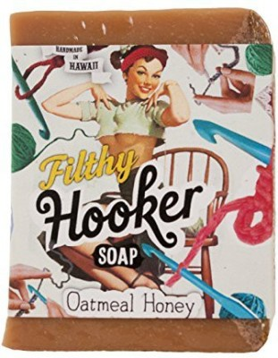 Filthy Farmgirl Hooker BAR SOAP Cinnamon Hawaiian Honey Oats Vanilla(230 g)