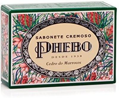 Phebo Linha Mediterraneo - Sabonete em Barra Cremoso Cedro do Marrocos ( Mediterranian Collection - Creamy Bar Soap Moroccan Cedar)
