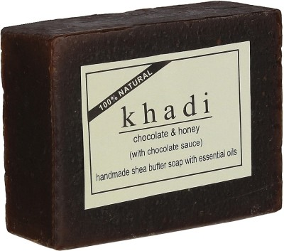 khadi Natural Chocolate & Honey Soap (With Chocolate Sauce & Shea Butter)