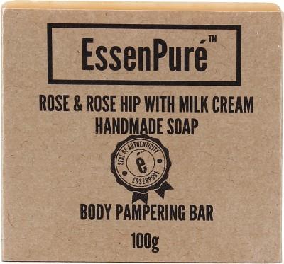 EssenPure Rose & Rose Hip Handmade Soap (Pack of 3)