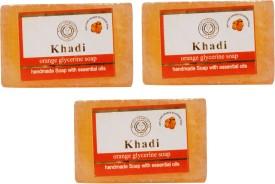Khadi Orange Glycerine Soap Pack Of 3