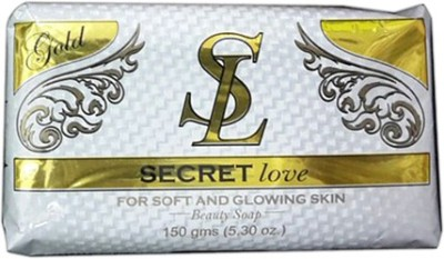 Secret Love Gold Beauty Soap