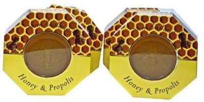 Parrs Skincare Manuka Honey and Propolis Soap - Set of Four