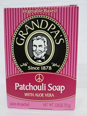 Grandpa's Bar Soap Patchouli with Aloe Vera 5 pack