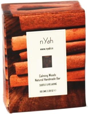 Nyah Calming Woods Natural Handmade Bar 100 Gms