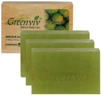 Greenviv Natural Green Apple Soap