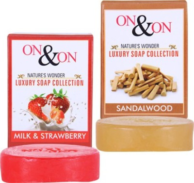 On & On Strawberry Sandalwood Combo