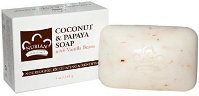 Nubian Heritage Bar Soap Coconut And Papaya - Multi-Pack (3 bars)