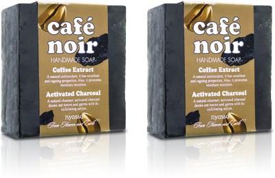 Nyassa Cafe Noir Handmade Soap Pack Of 2