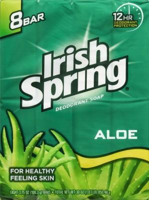 Irish Spring Aloe Deodorant Soap