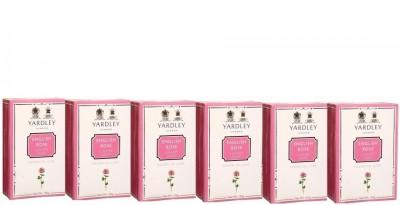 Yardley London English Rose Luxury Soap - Pack of 6(600 g)