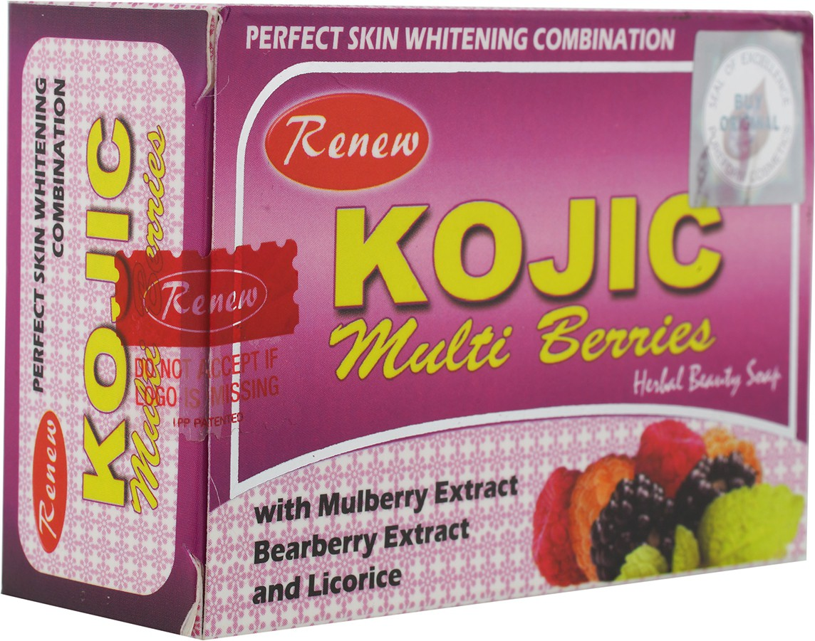 Renew Kojic Muti Berris Herbal Beauty & Skin Fairness Soap(135 g)