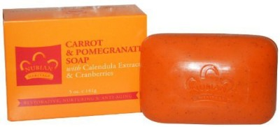 Nubian Heritage Bar Soap Carrot And Pomegranate