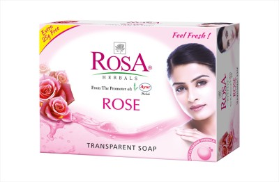 Rosa Herbals Rose Soap (Set of 4pcs)