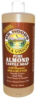 Dr. Woods Products Pure Almond Castile Soap with Organic Shea Butter
