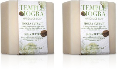 Nyassa Temple Mogra Handmade Soap Pack Of 2