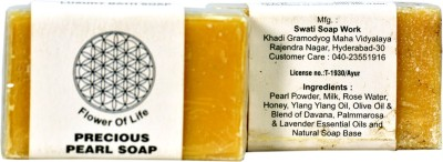 Flower of life -KHADI Pearl Soap