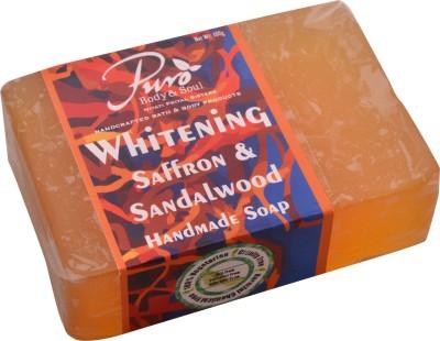 Puro Body & Soul Whitening Saffron & Sandalwood Handmade Soap