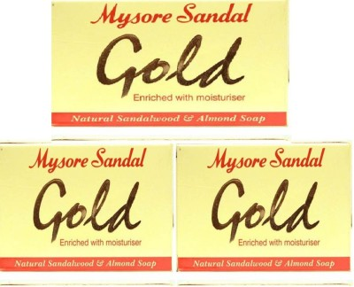 Mysore Sandal Gold, Pack of 3
