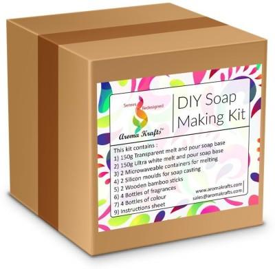 Aromakrafts Soap Making DIY Kit